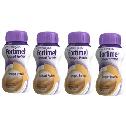 Fortimel Compact Protein Café 4x125ml 416x416