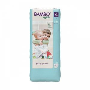 bambo nature fraldas 4 L 7 14Kg X48 unidades