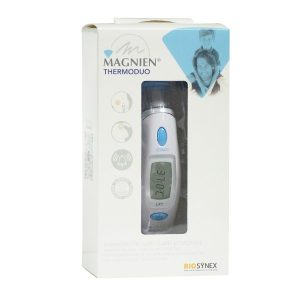 magnien thermoduo termometro auricular frontal
