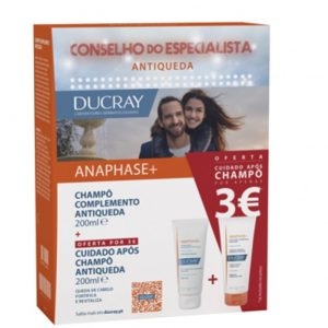 Ducray Pack Anaphase Champo Antiqueda Cuidado Apos Champo Fortificante 200 mL 200 mL
