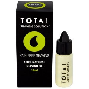 total shaving solution oleo de barbear 10ml